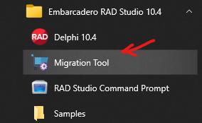 Migration tool location
